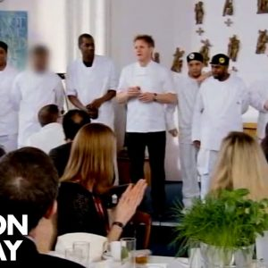 Gordon Ramsay's Prison Brigade Impresses All | Gordon Behind Bars