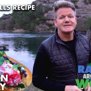 Gordon Ramsay's Quick Grilled Crab Rolls Recipe