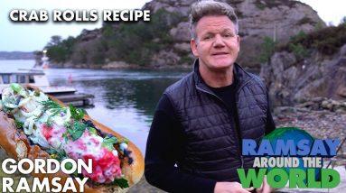 Gordon Ramsay's Quick Grilled Crab Rolls Recipe