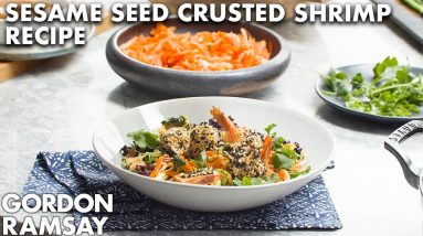 Gordon Ramsay's Sesame Seed Crusted Shrimp Recipe