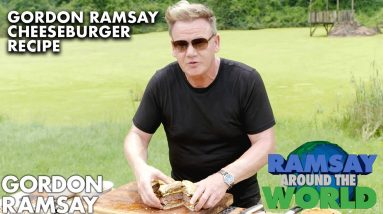 Gordon Ramsay's Spicy Cheeseburger Recipe from South Africa