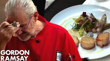 Head Chef Cries When He Tastes Gordon's Food   Hotel Hell