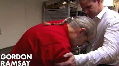 Head Chef FAINTS on Gordon!   Hotel Hell