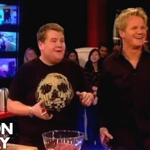 James Corden is Rude to His Mum | Gordon Ramsay