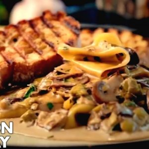 Mushroom, Leek and Tarragon Pasta | Gordon Ramsay