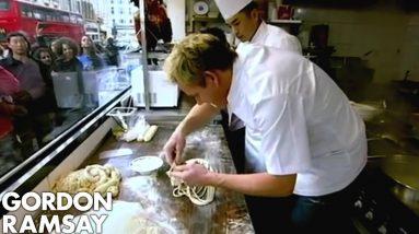 Noodle Pulling | Gordon Ramsay