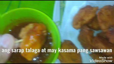 pag haluin ang potato at shrimp at I fried mapapa wow kayo sa sarap
