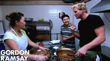 Gordon Ramsay Prepares Duck In A Secret Sweet & Sour Sauce | Gordon's Great Escape