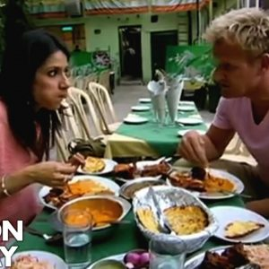 Real Indian food in Delhi | Gordon Ramsay