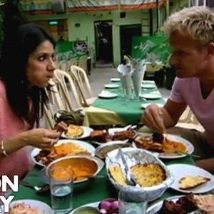 Real Indian food in Delhi | Gordon Ramsay