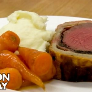 Gordon Ramsay Teaches Prisoners How To Cook A Beef Wellington | Gordon Behind Bars