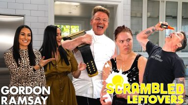 Gordon Ramsay's Scrambled Bloopers With Steve-O, Ronda Rousey & The Bella Twins | Scrambled