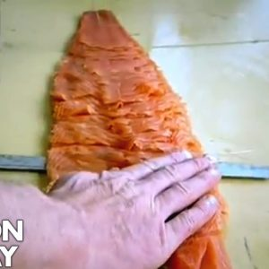 Slicing Smoked Salmon | Gordon Ramsay