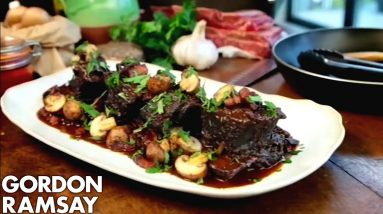 Slow Cooked Beef Short Ribs | Gordon Ramsay
