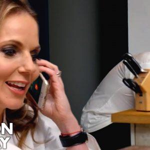 Spice Girl Geri Halliwell Phones Gordon Ramsay's Mother