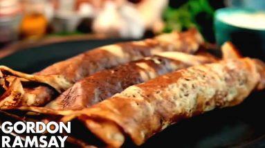 Spicy Potato Breakfast Pancakes | Gordon Ramsay