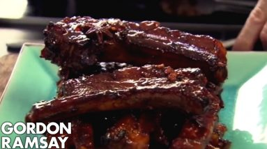 Sticky Pork Ribs | Gordon Ramsay