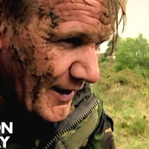 Training and Cooking with the Royal Marines | Gordon Ramsay