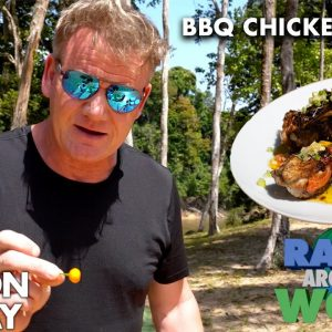 Are Gordon Ramsay's Chicken Wings Spicy Enough for The Hot Ones? | Ramsay Around the World