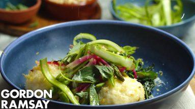 Gordon Ramsay's Cheesy Springtime Pasta Dumplings (Gnudi)
