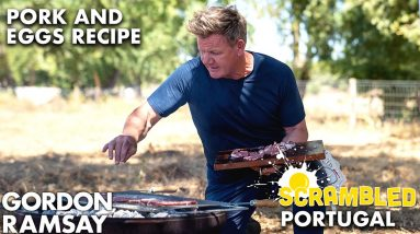 Gordon Ramsay Cooks Up Portuguese Bacon and Eggs | Scrambled