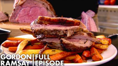 Gordon Ramsay's Stuffed Rib Of Beef | Home Cooking FULL EPISODE