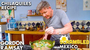 Will Aaron Sanchez Approve of Gordon Ramsay's Mexican Breakfast? | Scrambled