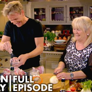 Gordon Ramsay Cooks Oxtail With His Mother | Home Cooking FULL EPISODE