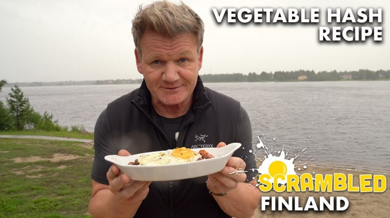 Gordon Ramsay Makes Finnish Breakfast Hash...Or is it Swedish? | Scrambled