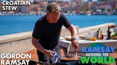 Gordon Ramsay Cooks Up a Croatian Stew in Under 15 Minutes | Ramsay Around the World
