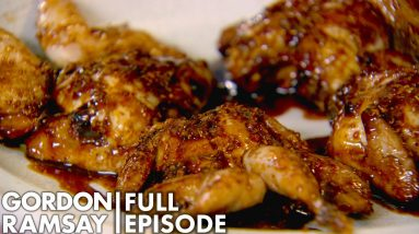 Pomegranate Molasses Marinated Quail With Gordon Ramsay | Home Cooking FULL EPISODE