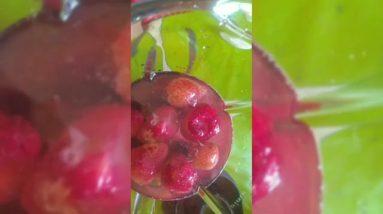 Berry strawberry juice