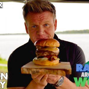 Gordon Ramsay Makes a Reindeer Burger!? | Ramsay Around the World