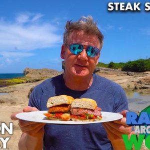 Gordon Ramsay's Beachside Steak Sandwich