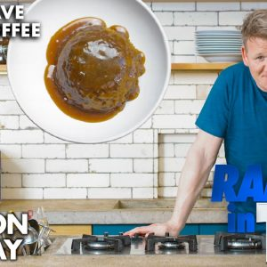 Gordon Ramsay Makes a Sticky Toffee Pudding in a Microwave?!? | Ramsay in 10