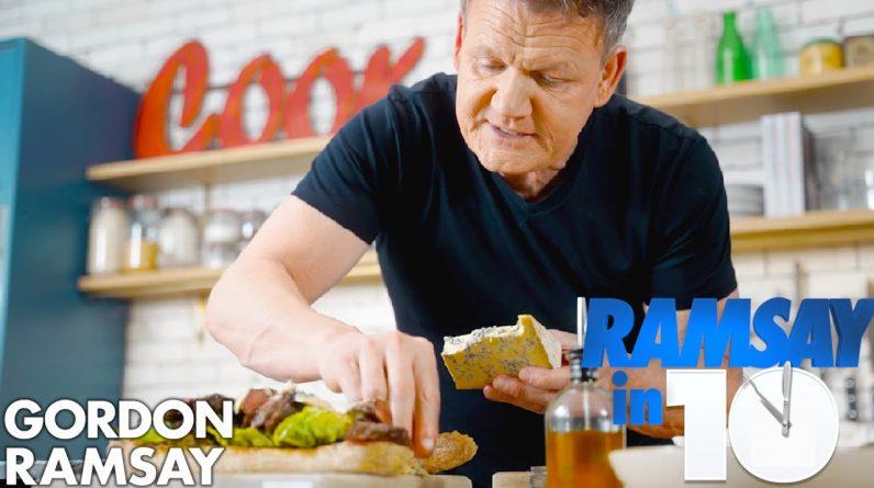 The Perfect Steak Sandwich Recipe in Just 10 Minutes | Gordon Ramsay